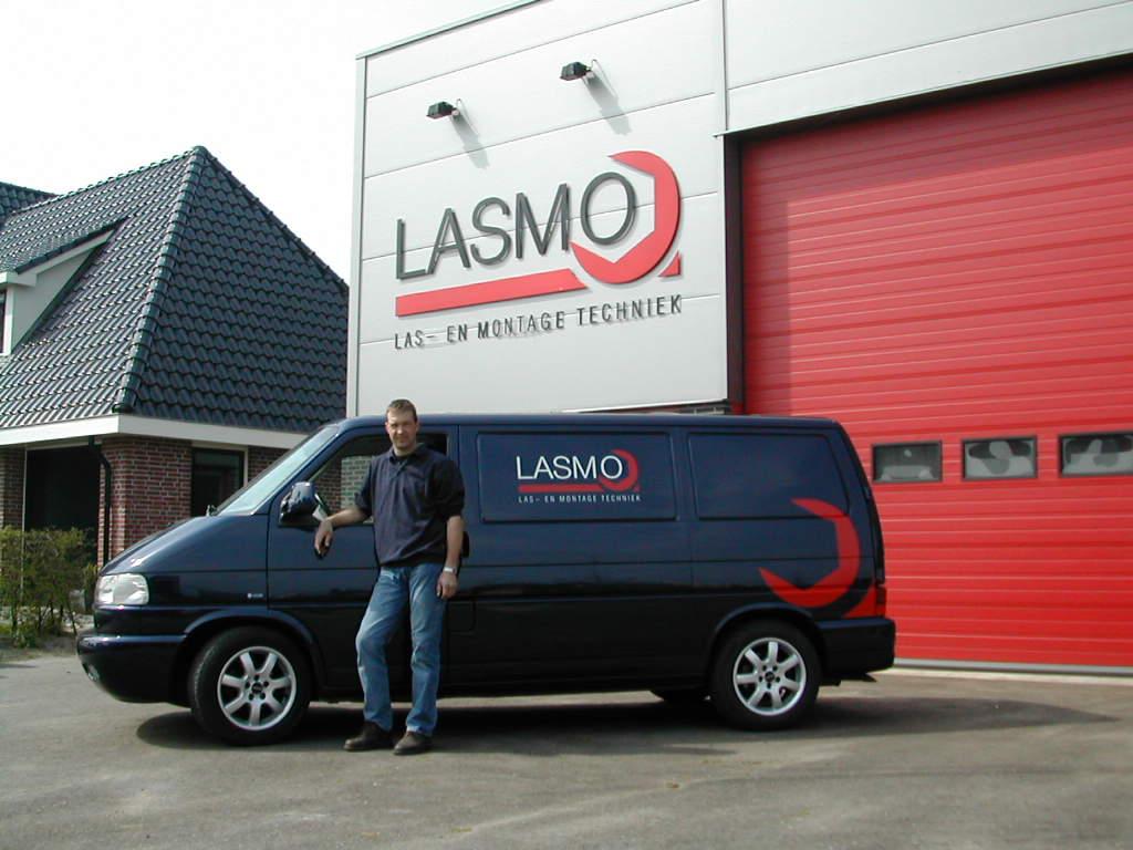 Roelof Lolkema van Lasmo Las en montagetechniek